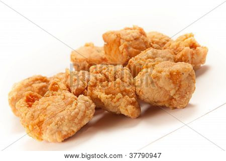 Pieces of fried Chicken