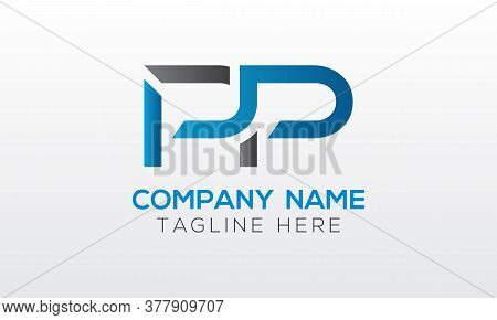 Initial Pp Letter Logo With Creative Modern Business Typography Vector Template. Creative Letter Pp