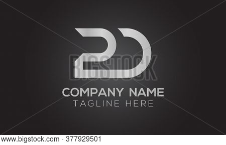 Initial Pd Letter Logo With Creative Modern Business Typography Vector Template. Creative Letter Pd