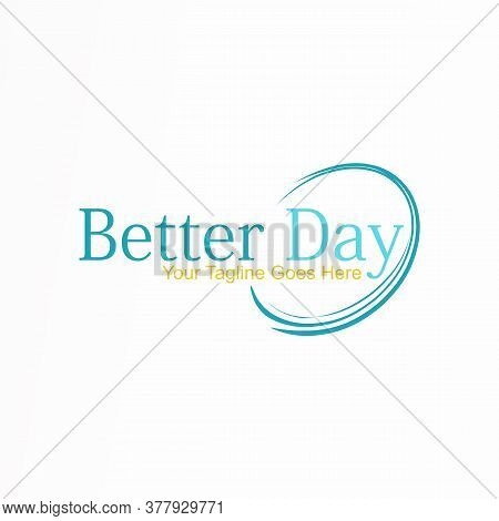 Logo, Design, Vector, Icon, Idea, Concept, Image, Abstract, Symbol, Graphic With Writing Better Day,