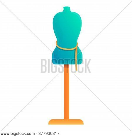 Clothes Mannequin Icon. Cartoon Of Clothes Mannequin Vector Icon For Web Design Isolated On White Ba