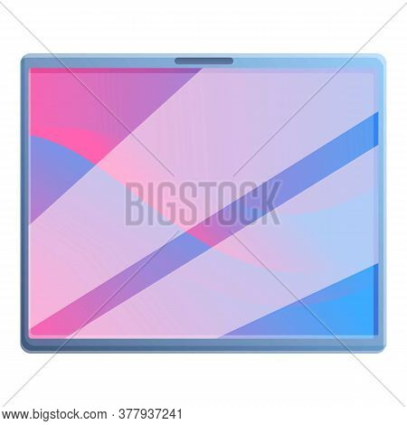 Smart Tablet Icon. Cartoon Of Smart Tablet Vector Icon For Web Design Isolated On White Background