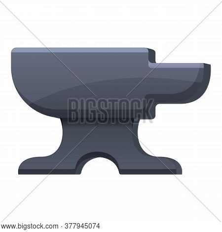 Blacksmith Anvil Tool Icon. Cartoon Of Blacksmith Anvil Tool Vector Icon For Web Design Isolated On