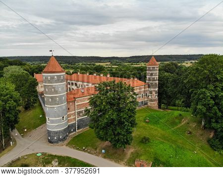 Panemune Castle In Vytenai Town, Lithuania