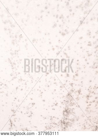 Zinc Metal Texture. Iron Retro Blue Wall. Corrosion Ocean Print. Background Zinc Metal Texture. Whit