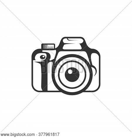 Camera Silhouette, Camera Vector, Camera Lens Logo, Camera Logo, Camera App Logo. Camera Illustratio