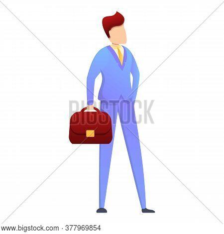 Office Headhunter Icon. Cartoon Of Office Headhunter Vector Icon For Web Design Isolated On White Ba