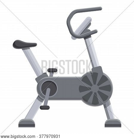 Professional Exercise Bike Icon. Cartoon Of Professional Exercise Bike Vector Icon For Web Design Is