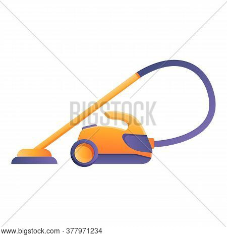 Home Steam Cleaner Icon. Cartoon Of Home Steam Cleaner Vector Icon For Web Design Isolated On White