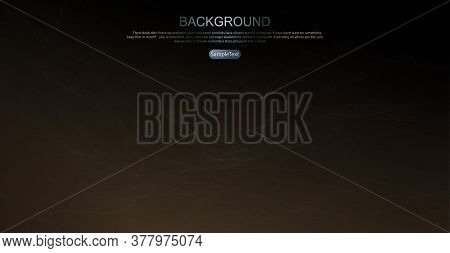 Abstract Design In Brown Color, Thin Light Shroud, Like A Light Haze