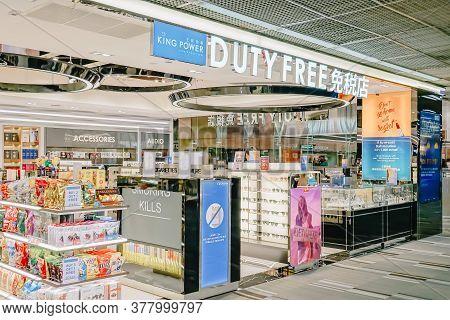 Bangkok- Nov 22,2018 : King Power Duty Free Shop At Don Mueang Airport, Bangkok Of Thailand,it Is Wr