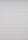 A grey roller shutter door as a background poster