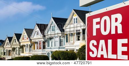 Row houses for sale in San Francisco