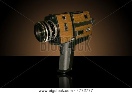 Old Super 8 Movie Camera