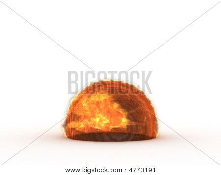3D Fireball