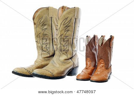 Cowboy Boot And Children's Boot