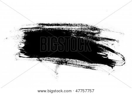 Abstract Paint Brush Stroke