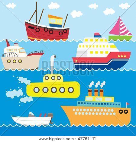 Transportation Set poster