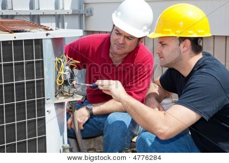Learning Air Conditioning Repair