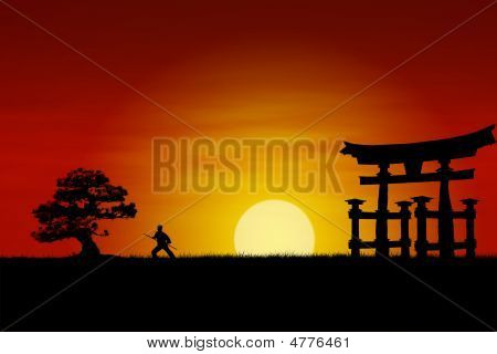 Japanese Sunset