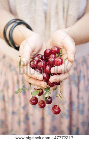Holding Cherries