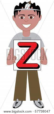 Letter Z Boy