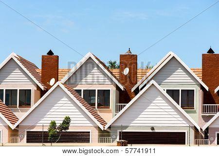 Modern Town Houses.