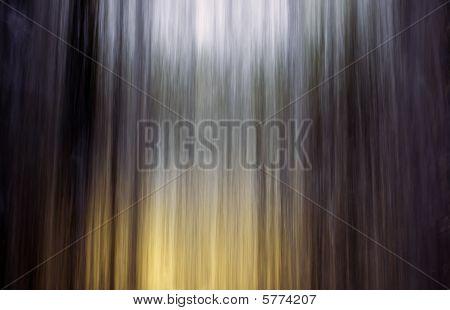 Water falling.