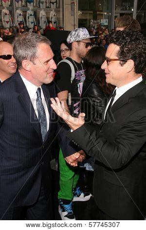 Ben Cross and J.J. Abrams at the Los Angeles Premiere of 'Star Trek'. Grauman's Chinese Theatre, Hollywood, CA. 04-30-09
