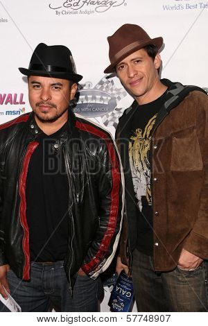 Jacob Vargas and Clifton Collins Jr at the Rally For Kids With Cancer 'The Winner's Circle' Gala Dinner. Private Location, Beverly Hills, CA. 05-02-09