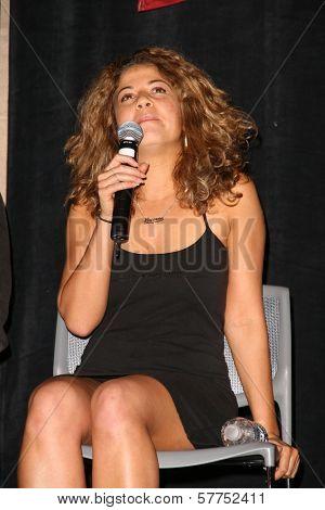 Luciana Carro  at 'Battlestar Galactica' Auction Preview Day and Actor Panel. Pasadena Convention Center, Pasadena, CA. 05-07-09