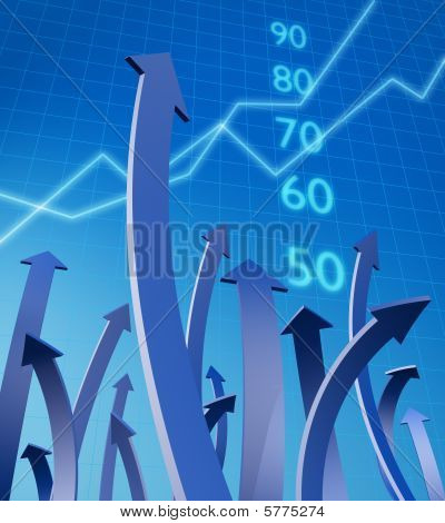 Business And Financial Growth Concept