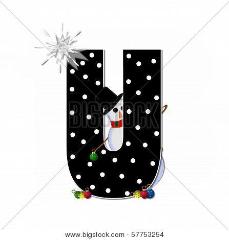 Alphabet Frosty U
