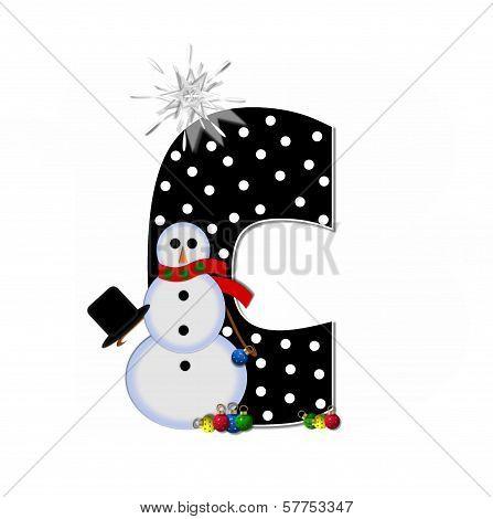 Alphabet Frosty C