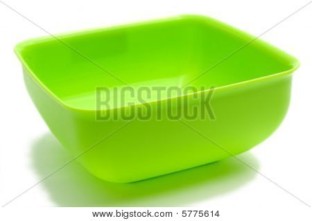 Square Green Bowl