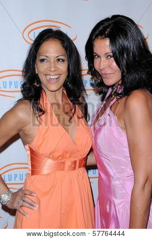 Sheila E and Maria Conchita Alonso  at the 9th Annual Lupus LA Orange Ball. Beverly Wilshire Four Seasons, Beverly Hills, CA. 05-28-09