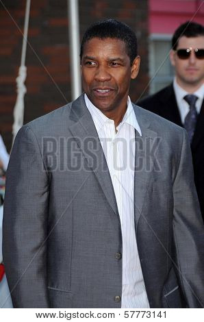 Denzel Washington  at the Los Angeles Premiere of 'The Taking of Pelham 123'. Mann Village Theatre, Westwood, CA. 06-04-09