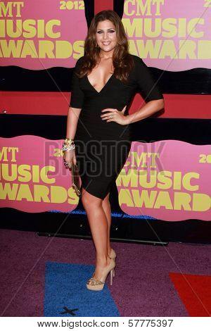 Hillary Scott at the 2012 CMT Music Awards, Bridgestone Arena, Nashville, TN 06-06-12