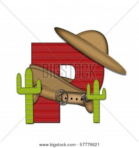Alphabet Bandido P