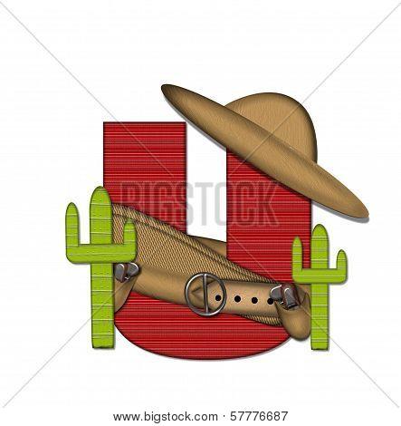 Alphabet Bandido U