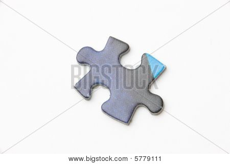Dark Blue Puzzle Piece