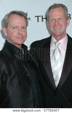 Walter Lowry and Craig Thompson at the APLA 'The Envelope Please' Oscar Viewing Party. The Abbey, West Hollywood, CA 02-22-09