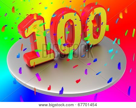 One Hundredth Means Birthday Party And Annual