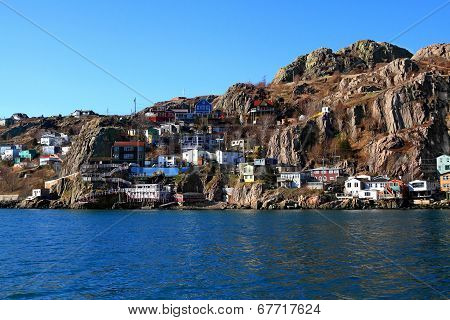 East End Of St. John's Where The Town Reached Signal Hill