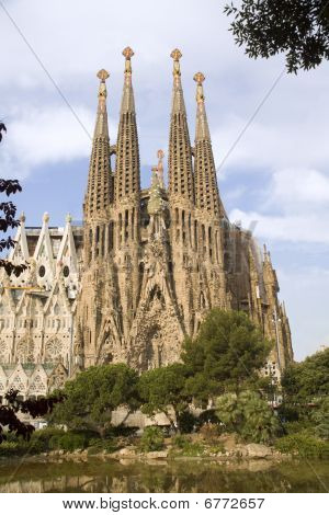 Barcelona - cathedral Sagrada la Familia