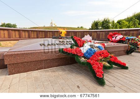 World War Ii Memorial In Dmitrov, Russia