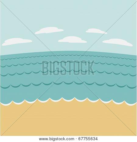 Summer Seascape.
