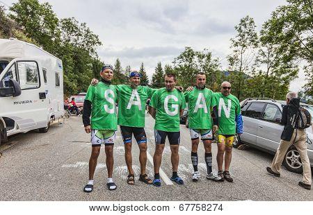 Sagan's Fans