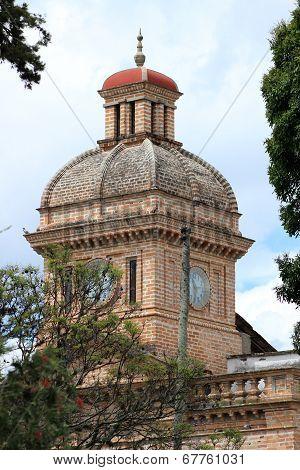 Brick Building in Ibarra