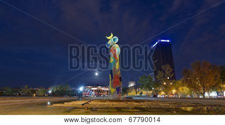 Dona I Ocell - Joan Miro Barcelona